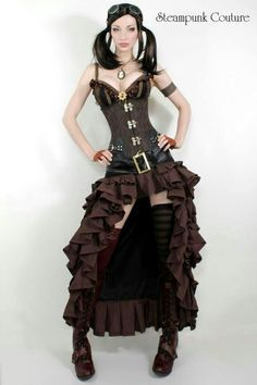 870edd4a7cb Unique and Inspiring Steampunk Style Clothing