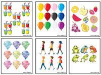 30 ΚΑΡΤΕΣ ΜΕ ΠΟΛΛΑ ΚΑΙ ΛΙΓΑ ΑΝΤΙΚΕΙΜΕΝΑ ΓΙΑ ΠΑΙΧΝΙΔΙ Calendar, Puzzle, Kids Rugs, Holiday Decor, Puzzles, Kid Friendly Rugs, Life Planner, Puzzle Games, Nursery Rugs