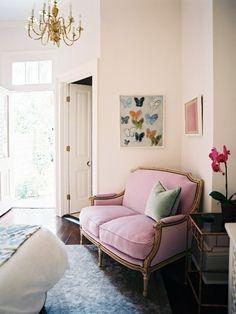 sofa + butterflies