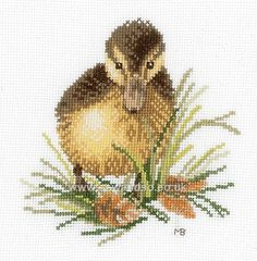 Buy Duckling I Cross Stitch Kit Online at www.sewandso.co.uk