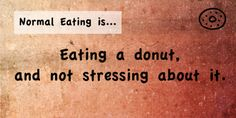 Just stay healthy and balanced and you can eat that donut once in a while. Go ahead, eat it! Eating Disorder Recovery, Nervous Breakdown, Mental Breakdown, Anxiety Tips, Body Love, Loving Your Body, Anxiety Attacks Symptoms, Patterns
