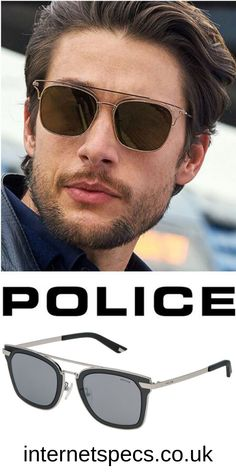 Designer sunglasses for men - Looking for quality Designer sunglasses for men? We offer a good selection of Police International Sunglasses that have been manufactured with expert craftsmanship, synonymous with the iconic designer brands! With our selection of the highest quality designer sunglasses, beauty and style will bring a smile on your face. #glasses #eyeglasses #designer Glasses Outfit, Fashion Eye Glasses, Designer Prescription Glasses, Prescription Lenses, Police Sunglasses, Mens Glasses, Men Looks, Icon Design, Eyewear