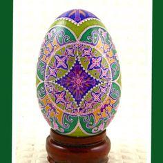 Pysanka Easter Egg by twistedpoppydesigns. Pysanky