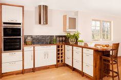 Kitchen Cabinets Units, Solid Wood Kitchen Cabinets, Walnut Cabinets, Kitchen Doors, Kitchen Paint, Walnut Worktops, Kitchen Appliances, Kitchens, Oak Wine Rack