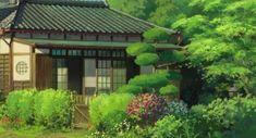Studio Ghibli Art, Studio Ghibli Movies, Aesthetic Japan, Aesthetic Anime, Naruto, Anime Scenery Wallpaper, Wallpaper Backgrounds, Up On Poppy Hill, Casa Anime