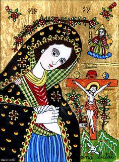 Christian Paintings, Lady Madonna, Orthodox Icons, Medieval Art, Romania, Art History, Penguins, Glass, Artist