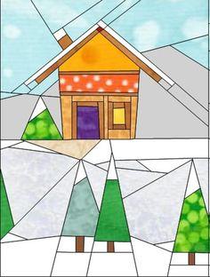 Gingerbread Village - Block #2 | Craftsy