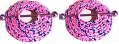 Nipple Shield Rings barbell barbells sold as a pair 14 gauge Cupcake and Sprinkles by Body Accentz Nipple Rings -- Awesome products selected by Anna Churchill