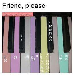 Friend, pleas piano