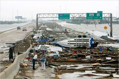 Hurricane Ike, Houston, TX - Hurricane Ike was definitely an adventure for our family. We made it safe and sound with no power for 2 weeks.