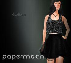 PaperMoon- CLARA Skirt-  Black
