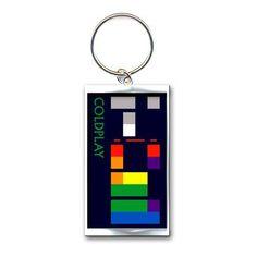 ICYMI: Coldplay X&Y Album Keyring: Artist : Coldplay Product : Keyring Design : X&Y Album keychain