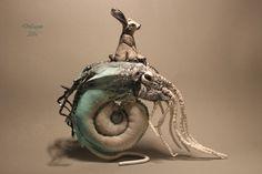 author, ooak, fairy, tale, sculpture cloth fantasy art original handmade