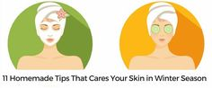 Take a look of home made tips for your skin in winter with home made things like Butter, Bananan, honey, Carrot  etc.