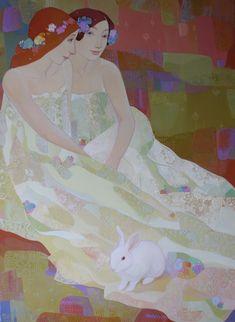 "Maia Ramishvili (Georgia, USSR, 1969)  ""In Segreto"""