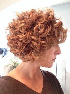 A-Line Curly Bob