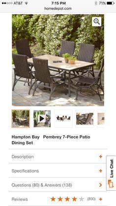 Backyard Creations Allenwood Patio Umbrella Side Table At Menards Outdoor Living Backyard Creations Patio Outdoor Decor
