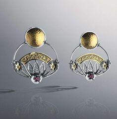 Azza Fahmy earrings Alex And Ani Charms, Ballerina, Cufflinks, Charmed, Wall Art, Bracelets, Earrings, Jewellery, Accessories