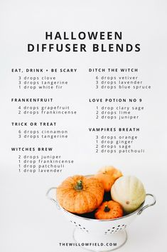 At the exact same time, when your brain recognizes that you have actually inhaled specific anxiety-relieving essential oils, the production of stress-causing hormones like cortisol is decreased. Essential Oil Diffuser Blends, Doterra Essential Oils, Young Living Essential Oils, Doterra Diffuser, Aromatherapy Diffuser, Diffuser Recipes, Happy Halloween, Haunted Halloween, Fall Halloween