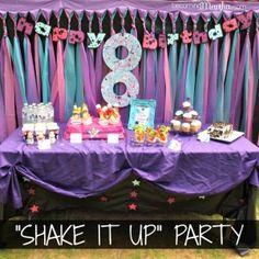 Shake It Up Birthday Party