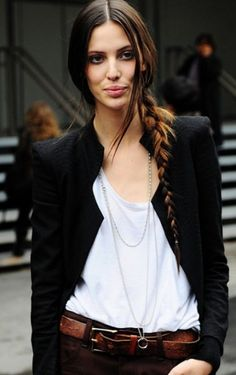 If only my hair was this thin and long..