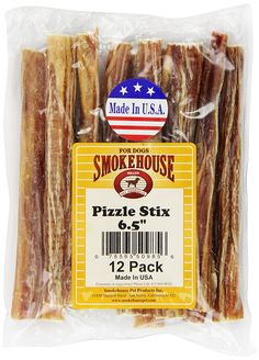 Smokehouse Pizzle Stixs Dog Treats, 12-Pack * To view further for this item, visit the image link. (This is an affiliate link and I receive a commission for the sales)