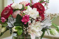 How to Arrange Flowers: Thanksgiving Centerpiece