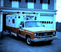 Police Vehicles, Emergency Vehicles, Police Cars, Old Trucks, Fire Trucks, American Ambulance, Chevy, Funeral Homes, Car Part Furniture