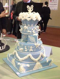 Fancy Wedgwood Cake