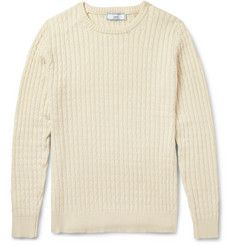AMICable-Knit Cotton Sweater