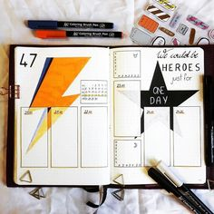 """2,265 Likes, 13 Comments - Planner Inspiration (@showmeyourplanner) on Instagram: """"Love the #lighteningbolt here from @coco5005bujo. ・・・ Third week of November, time flies! Still…"""""""