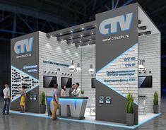 CTV exhibition stand