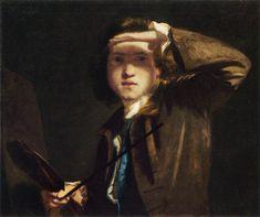 Sir Joshua Reynolds, Self-Portrait, 1747.
