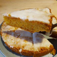Möhrenkuchen mit Zitronenguss (vegan) von JulSte auf www.rezeptwelt.de, der Thermomix ® Community