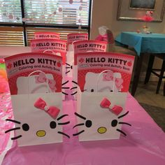Hello Kitty Party Favors #hellokitty #partyfavors