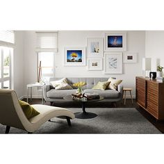 Anson Sofa & Delia Chaise Living Room - Living - Room & Board