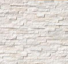 arctic white ledger stone