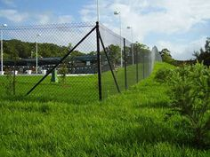 Security fencing is built to keep people both in and out of an area. Security fencing can be built with a number of materials to suit your desired style. Security Fencing, Homesteading, Fence, Building, Buildings, Construction