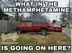 2 or more cars becom Truck Memes, Funny Car Memes, Car Humor, Really Funny Memes, Funny Relatable Memes, Funny Stuff, Truck Quotes, Car Quotes, Modified Cars