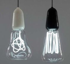 41 Artistic Light Bulbs - From Mousey LED Illuminators to Glass Bulb Sculptures (CLUSTER)