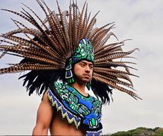Aztec Dancer. Penacho