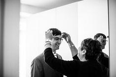 Bruidegom, bruiloft Tilburg, bruidsfotografie, huwelijk, wedding photographer, Holland, Bruidsfotograaf | Dario Endara