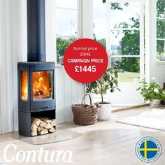 Contura 850 Stove Fireplace, Wood Burner, Design Process, Small Spaces, Barn, Things To Come, Home Appliances, Living Room, Kitchen
