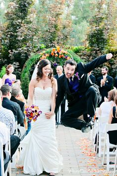 Best recessional photo ever!  - Cory's Country Inn Wedding https://weddingmusicproject.bandcamp.com/album/catholic-wedding-hymns http://weddingmusicproject.bandcamp.com/album/wedding-hymns-2