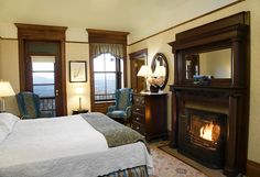 Mohonk Mountain House - guest room