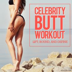 "Celebrity Butt Workout - Here's a workout to lift, round, and define. Is it hard? ""It's not easy"". Will I be sore? ""More than likely"". Is it worth it the effort? ""Most definitely"". #celebrityworkout #workout #buttworkout"