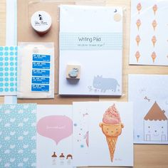 SNAIL MAIL KIT Wether if you are new to Snail mail or want to extend your collection, this kit is perfect for you! Contains everything you need to create a beautiful letter: Happy Mail, Snail Mail, Stationery Design, Are You Happy, Kit, Lettering, Make It Yourself, Writing, Create