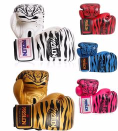 12oz  boxing gloves (tiger pattern Men/women)