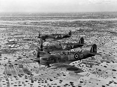 Spitfires over North Africa - pin by Paolo Marzioli