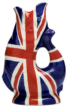Nautical Inspirations - Union Jack Gluggle Jug